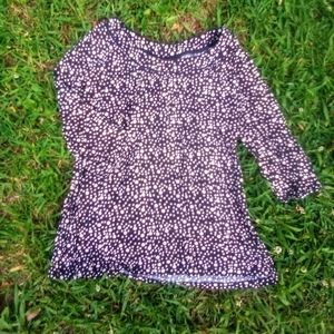 JM COLLECTION CUTE MEDIUM DOTTED TOP